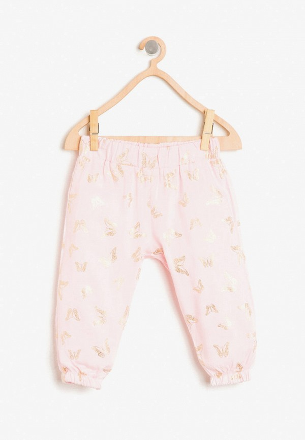 брюки koton для девочки, розовые
