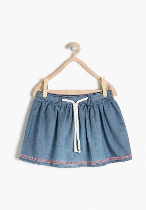 юбка koton для девочки, голубая