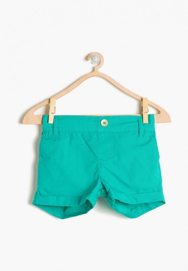 шорты koton для девочки, бирюзовые