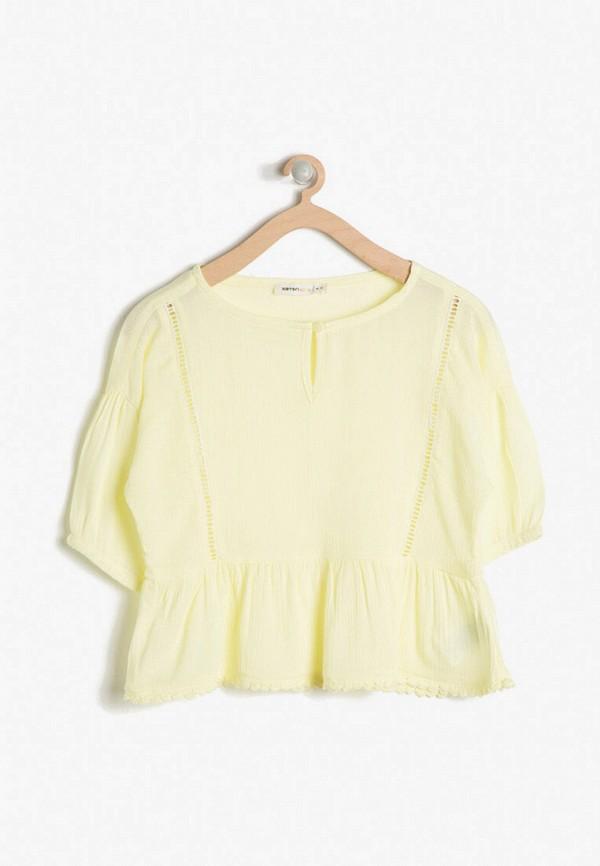 блузка koton для девочки, желтая