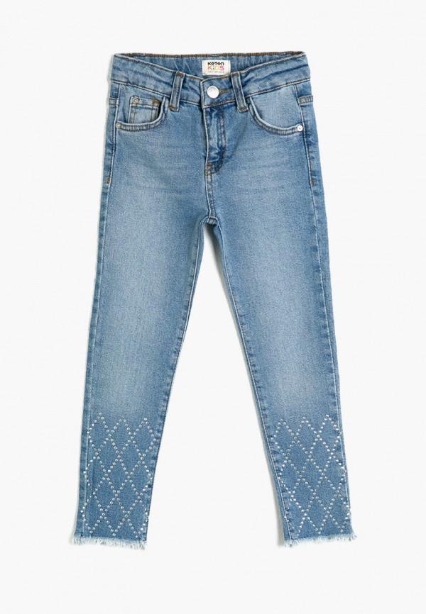 джинсы koton для девочки, голубые