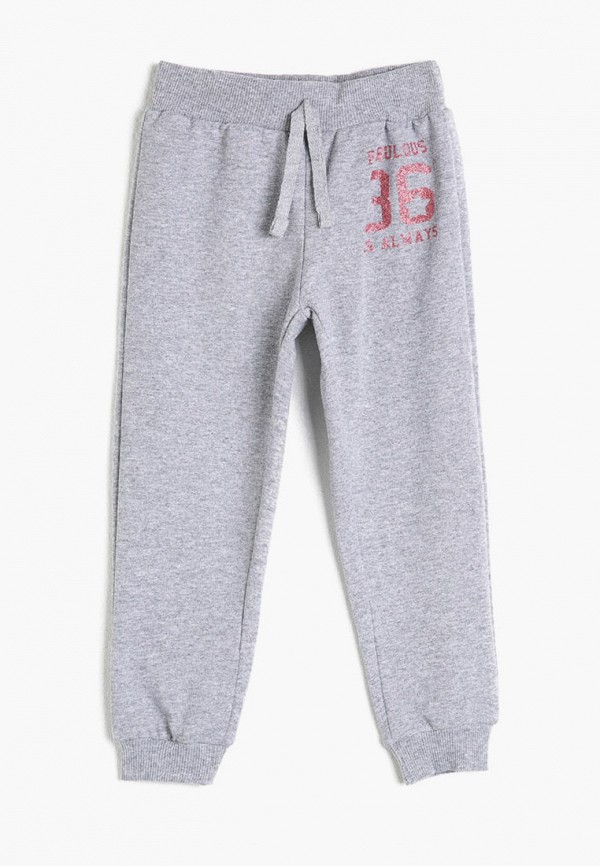 спортивные брюки koton для девочки, серые