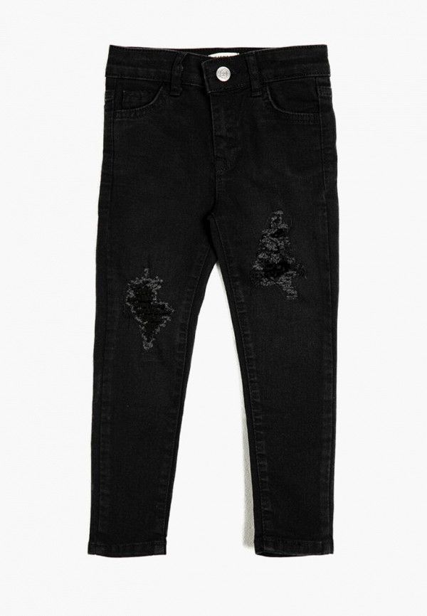 джинсы koton для девочки, черные