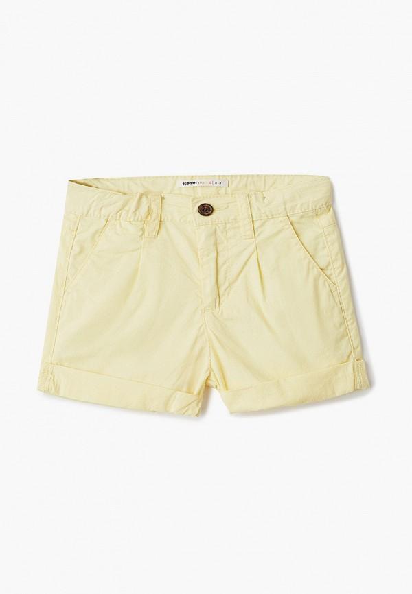 шорты koton для девочки, желтые