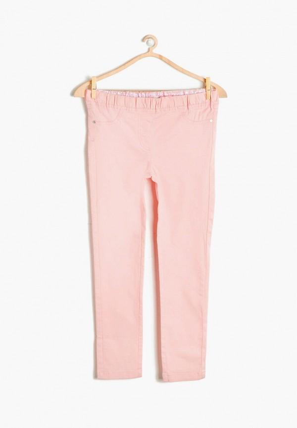 леггинсы koton для девочки, розовые