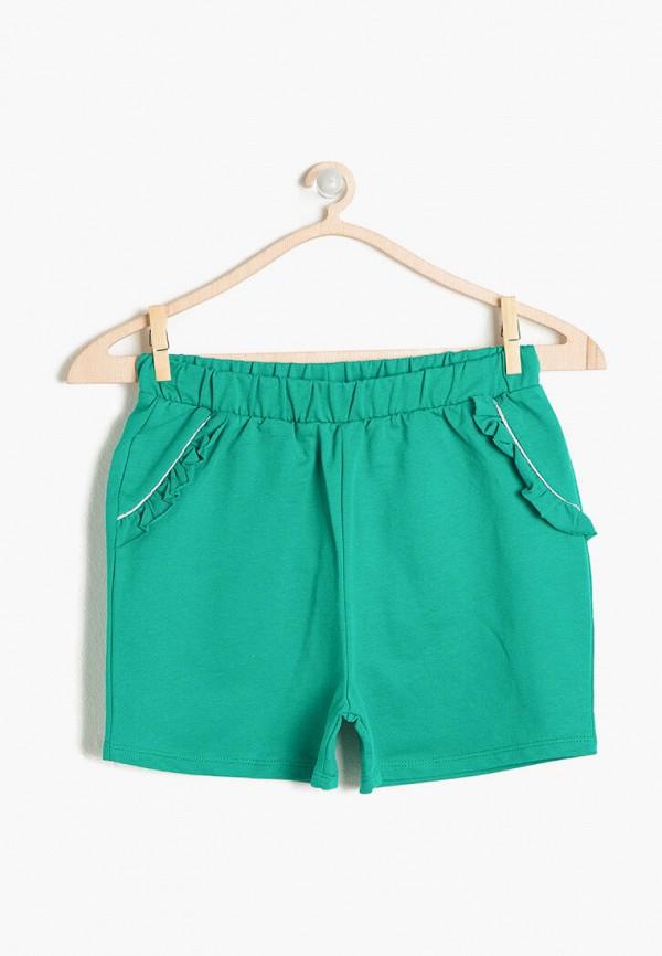 шорты koton для девочки, зеленые