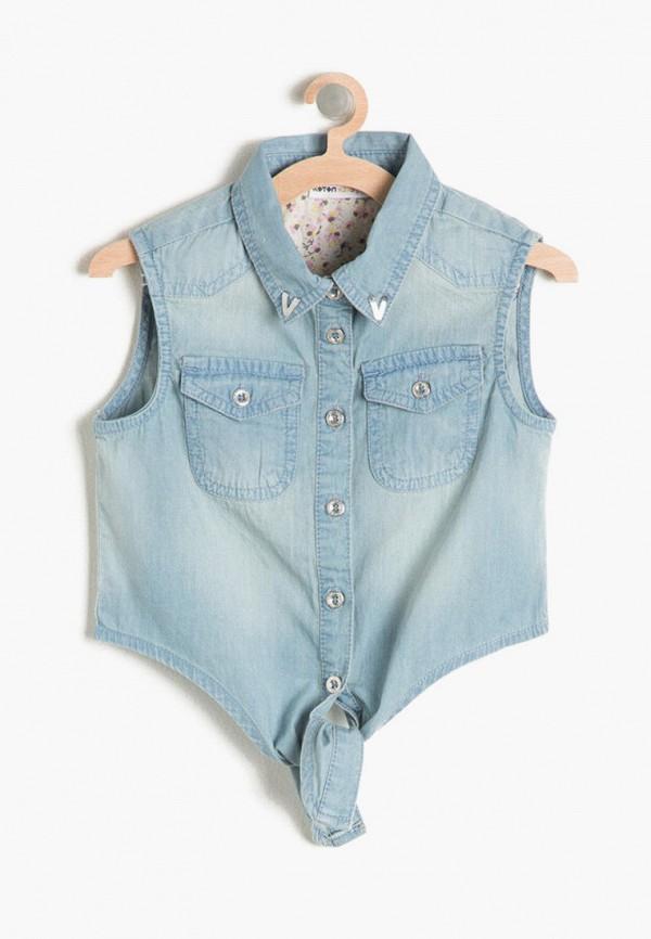 Рубашка джинсовая Koton Koton 7YKG67221DD голубой фото
