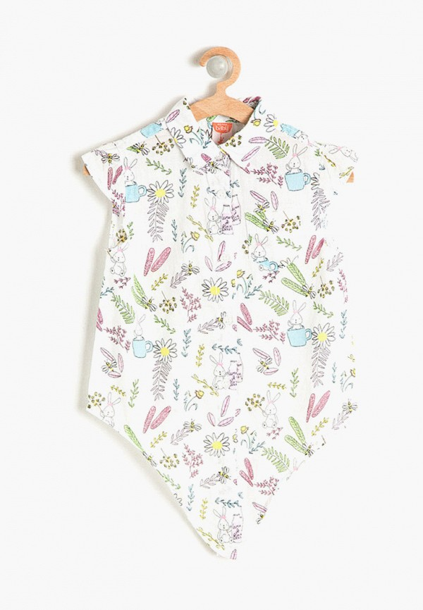 блузка koton для девочки, белая