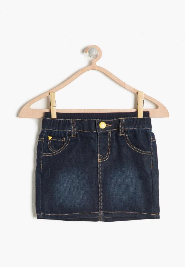 юбка koton для девочки, синяя