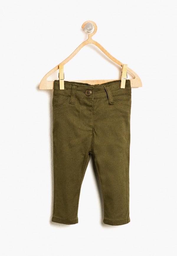брюки koton для девочки, хаки