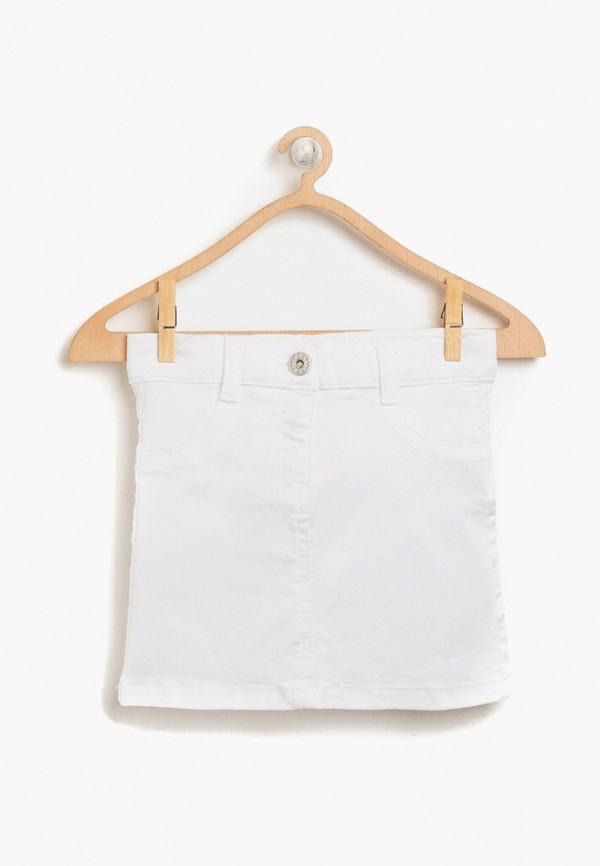 юбка koton для девочки, белая