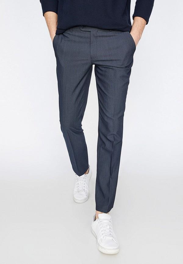 Купить мужские брюки Koton синего цвета