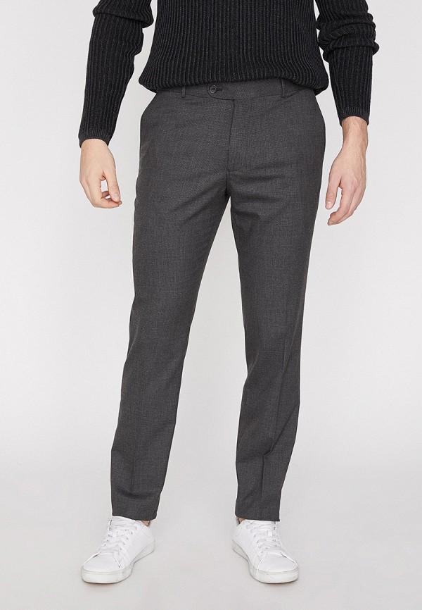 Фото - мужские брюки Koton серого цвета