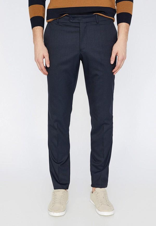 мужские повседневные брюки koton, синие