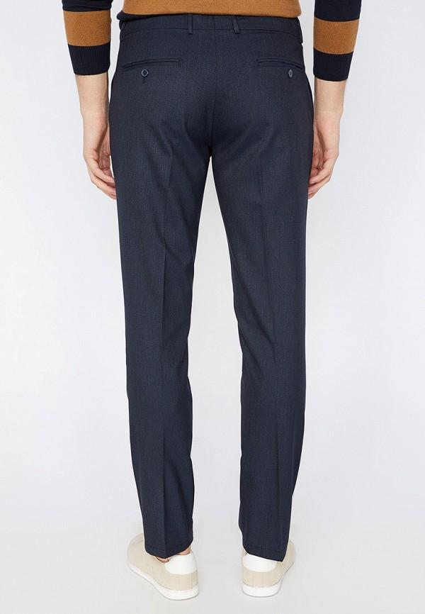 Фото 3 - мужские брюки Koton синего цвета