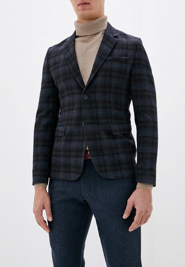 мужской пиджак koton, синий