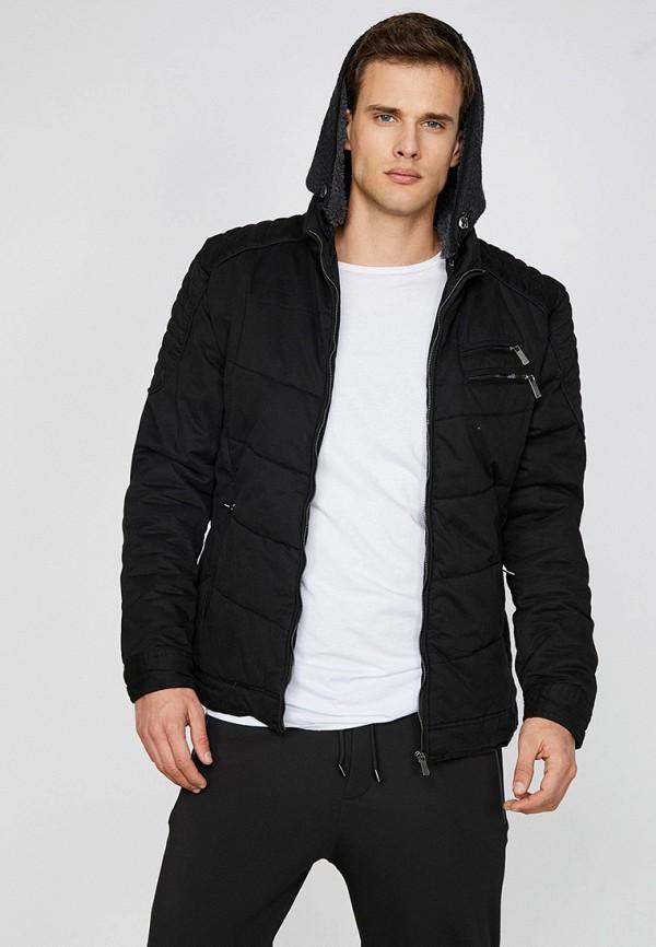 мужская куртка koton, черная