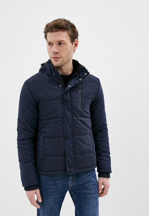 мужская куртка koton, синяя