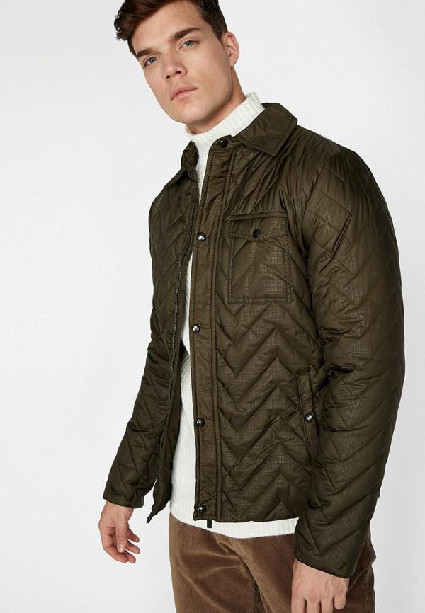мужская куртка koton, хаки