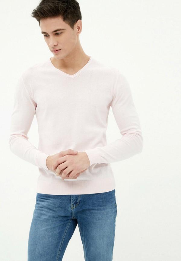 мужской пуловер koton, розовый