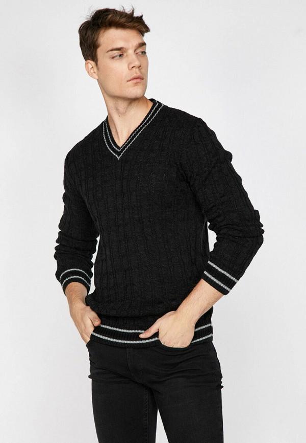 мужской пуловер koton, серый