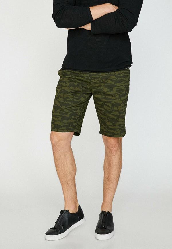 мужские повседневные шорты koton, хаки