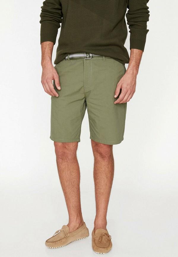 мужские повседневные шорты koton, зеленые