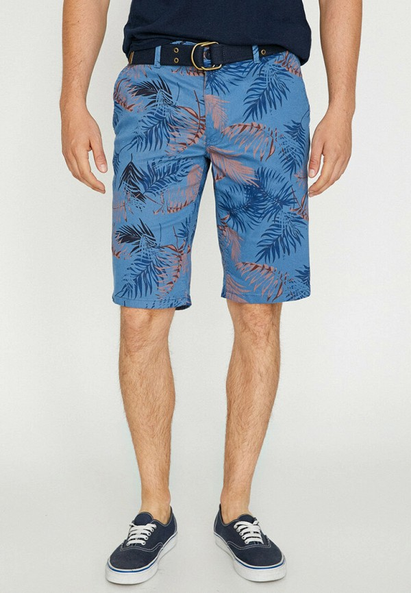 мужские повседневные шорты koton, синие