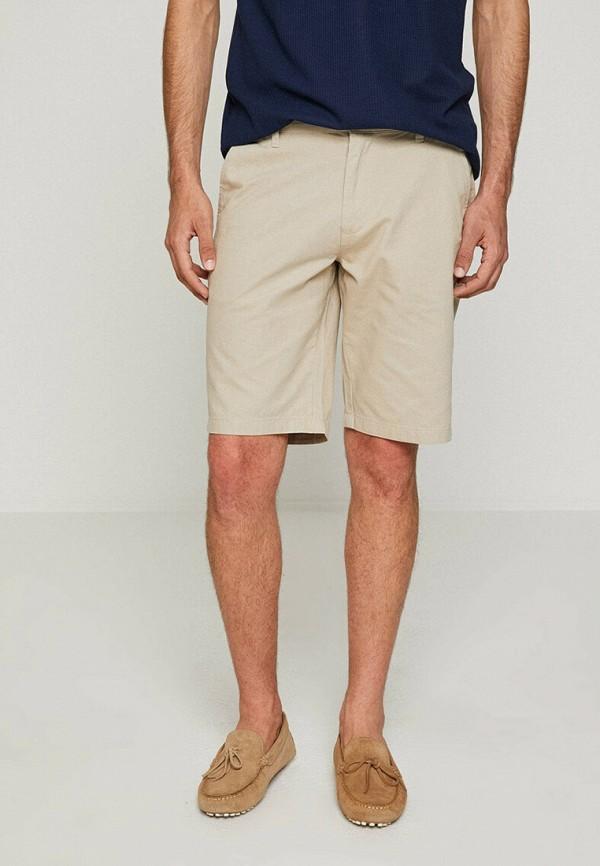 мужские повседневные шорты koton, бежевые