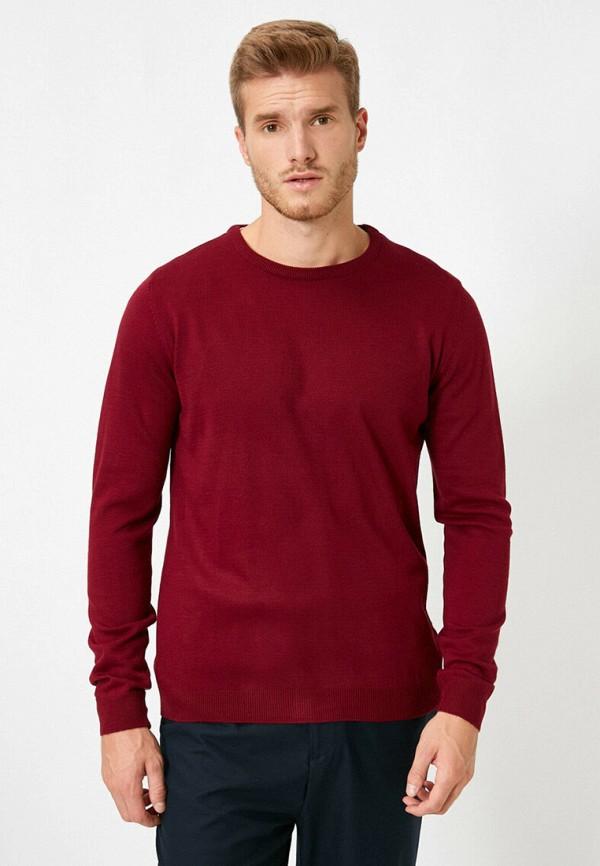 мужской джемпер koton, бордовый
