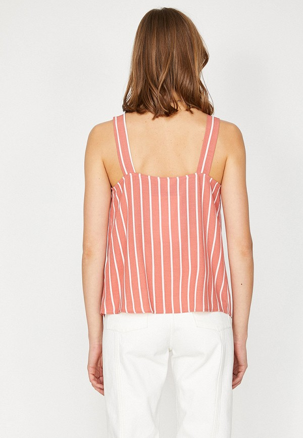 Фото 2 - женскую блузку Koton розового цвета