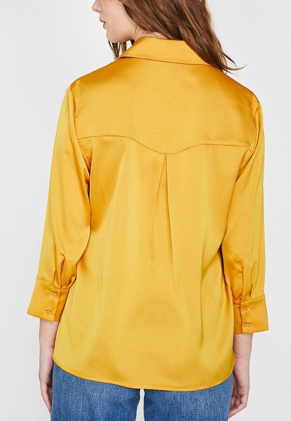 Фото 2 - Женскую блузку Koton желтого цвета