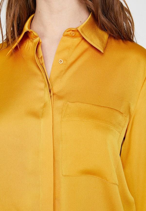 Фото 3 - Женскую блузку Koton желтого цвета