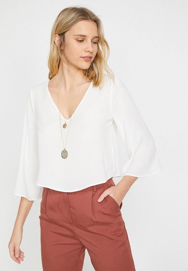 Купить женскую блузку Koton белого цвета