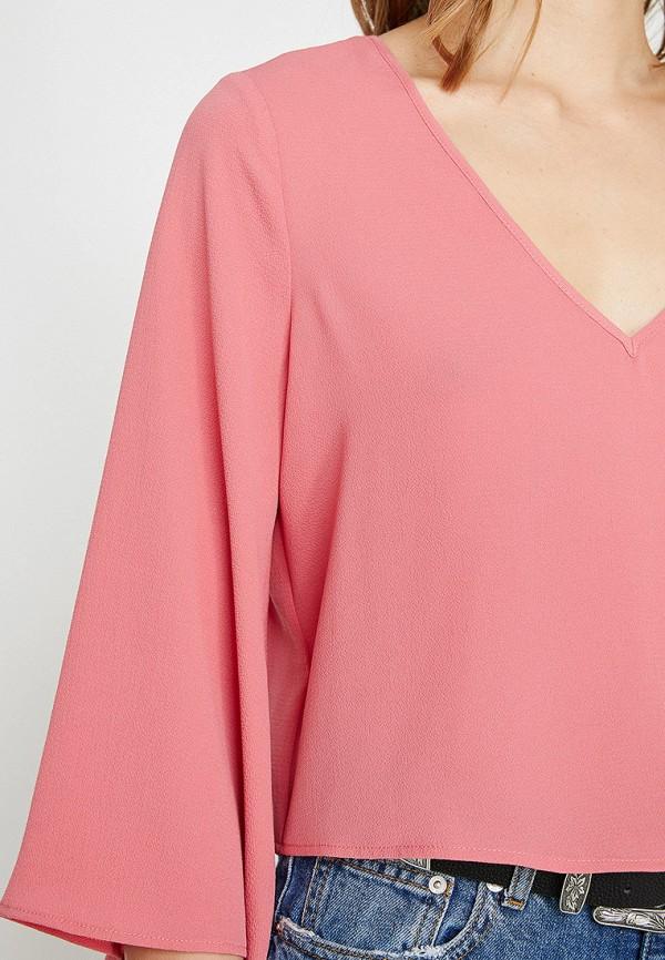 Фото 3 - женскую блузку Koton розового цвета
