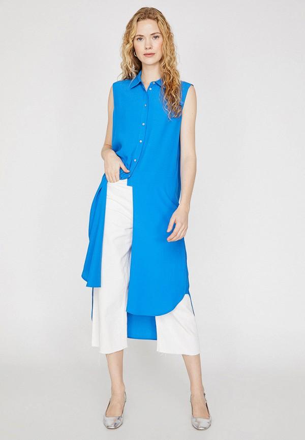 Туника Koton синего цвета