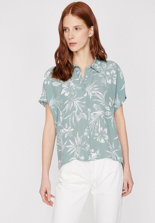 Фото - Женскую блузку Koton зеленого цвета