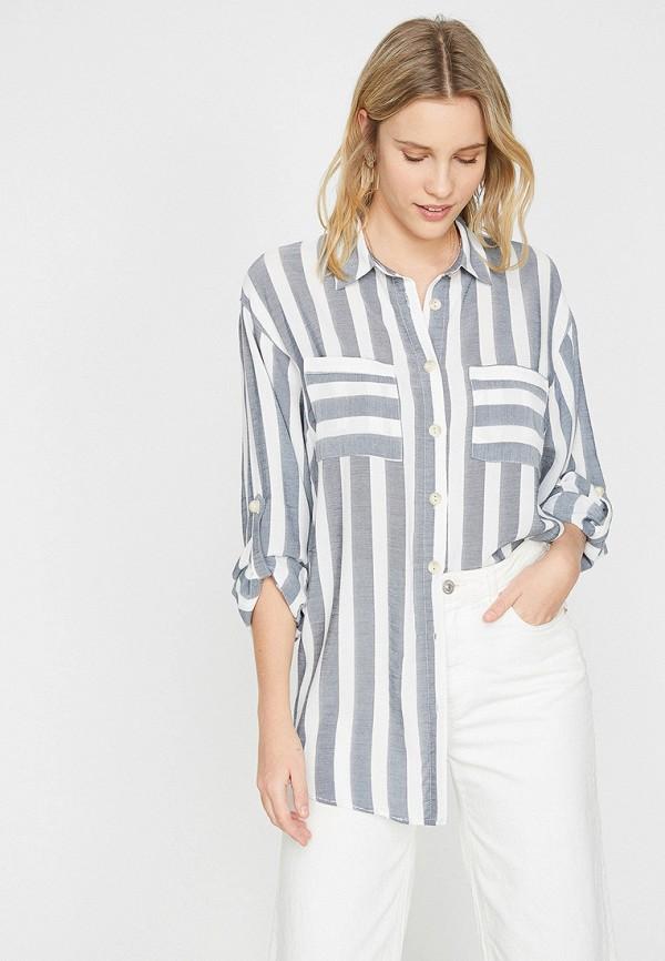 Купить Блуза Koton, ko008ewexsl5, серый, Весна-лето 2019