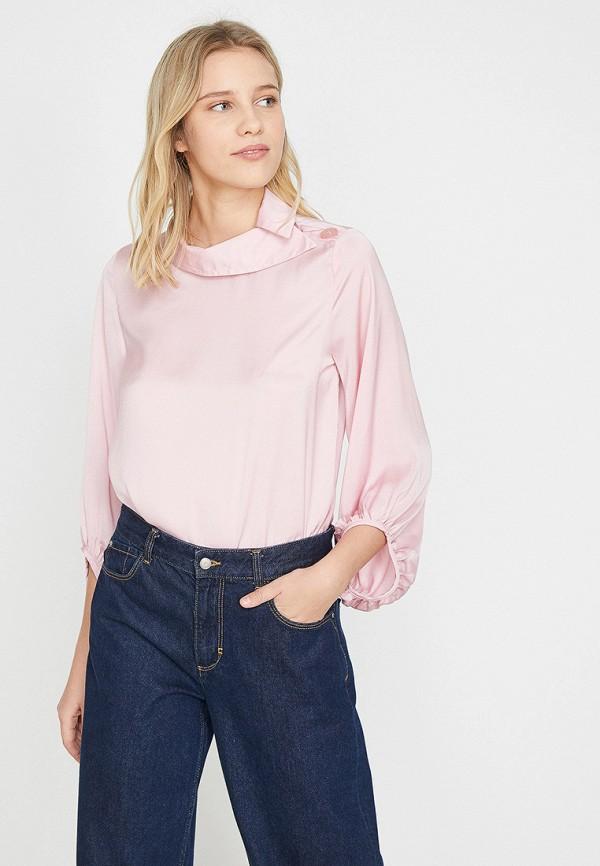 Купить Блуза Koton, ko008ewexsl9, розовый, Весна-лето 2019