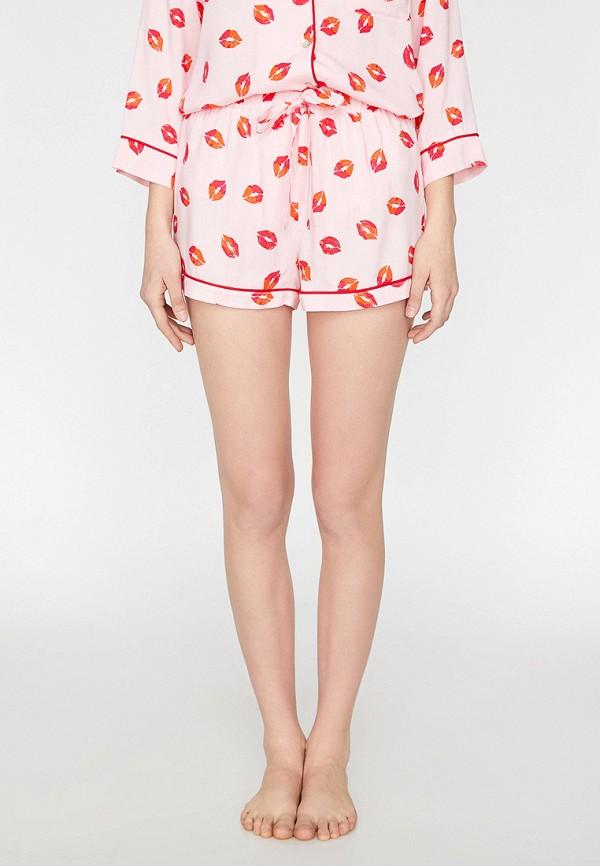 женские шорты koton, розовые