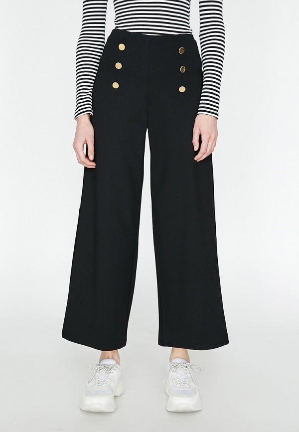 Фото - Женские брюки Koton черного цвета