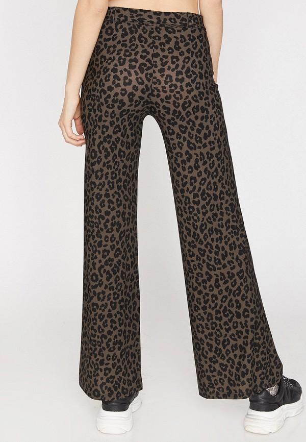 Фото 3 - Женские брюки Koton разноцветного цвета