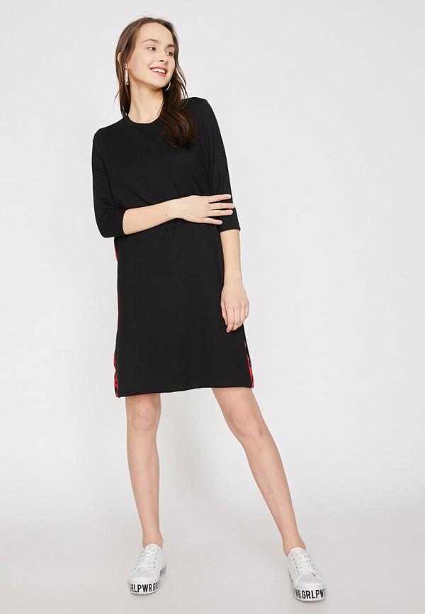 Фото - Женское платье Koton черного цвета