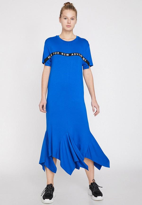 Фото - Женское платье Koton синего цвета
