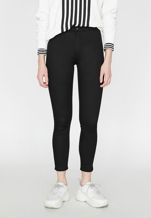 Фото - Женские джинсы Koton черного цвета