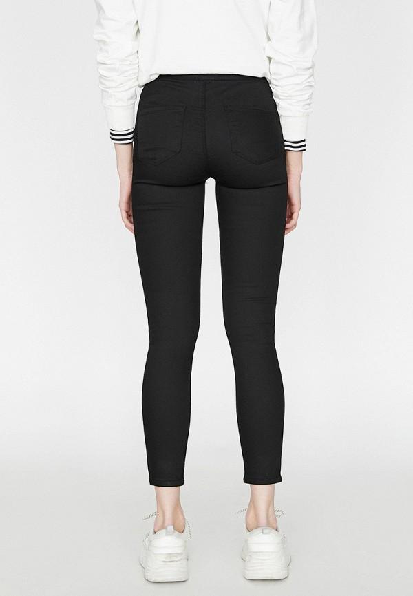 Фото 3 - Женские джинсы Koton черного цвета