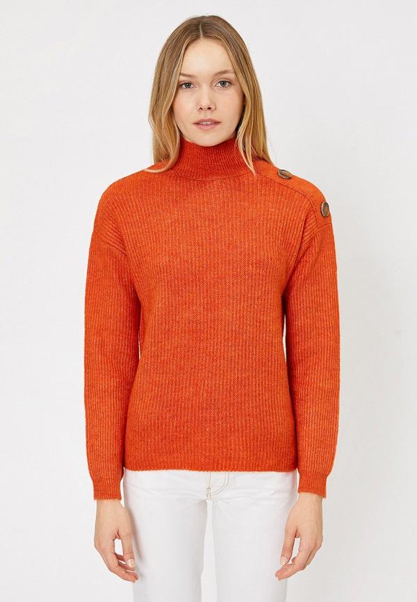 женский свитер koton, оранжевый