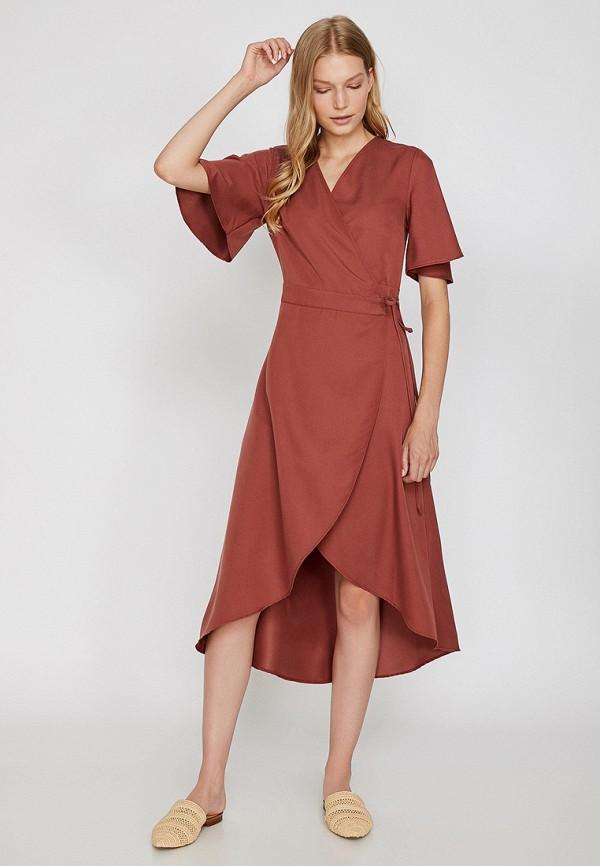 Фото - женское платье Koton розового цвета