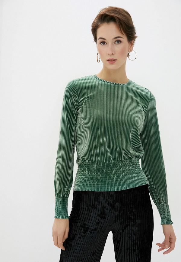 женская блузка koton, зеленая