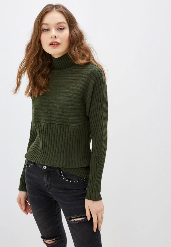 женский свитер koton, зеленый